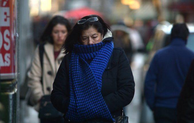 A prepararse: Se espera una masa de aire frío para los próximos días