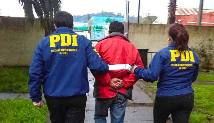 PDI detiene en Curicó a sujeto de 42 años por abuso sexual infantil
