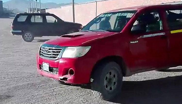Fiscalía de Bolivia anunció que devolverá a sus dueños la camioneta robada que uso la policía