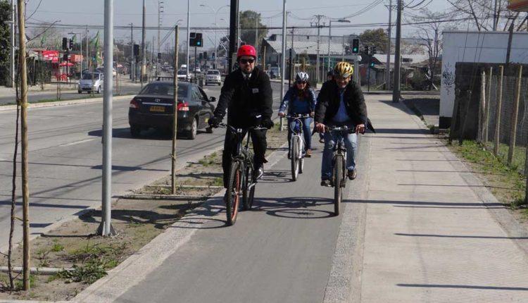 Comienza construcción de ciclovías de alto estándar en Talca