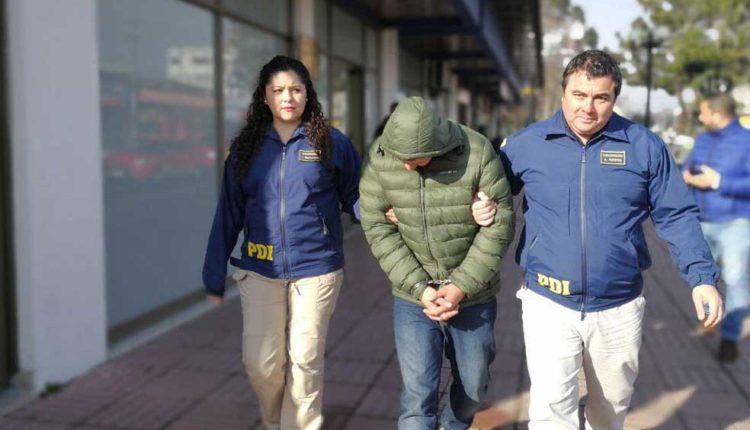 PDI Linares captura a colombiano vinculado en violento asalto a local de máquinas de juego