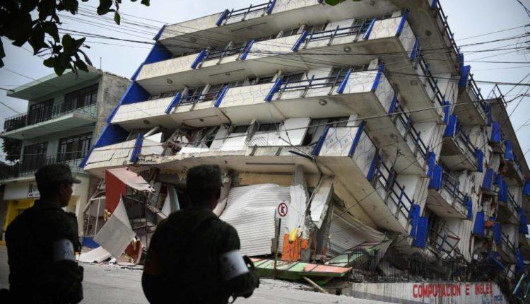 Terremoto 7,1 sacude a México provocando varias víctimas fatales y derrumbes de edificios