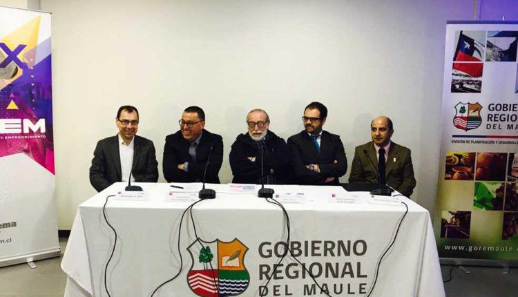 Intendente y autoridades lanzan inédita Feria de Innovación y Emprendimiento del Maule (FINEM 2017)