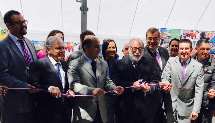 Novedosa feria de Innovación y Emprendimiento fue inaugurada en la Plaza de Armas de Talca