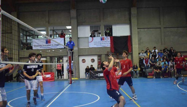 Universidad Autónoma fue sede en Talca de las Ligas Deportivas de Educación Superior