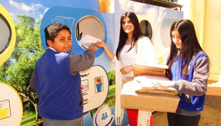 """Escuela de San Rafael inauguró """"Punto Verde"""" con recursos del Fondo de Protección Ambiental"""