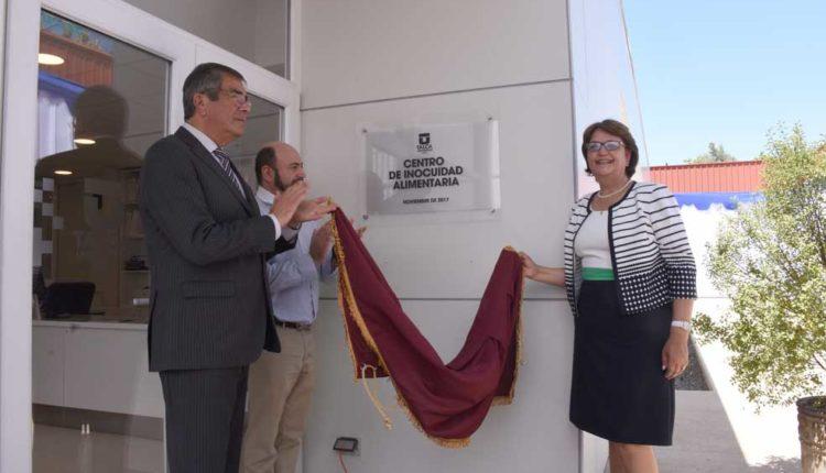 Universidad de Talca inauguró dependencias del primer Centro de Inocuidad Alimentaria del país