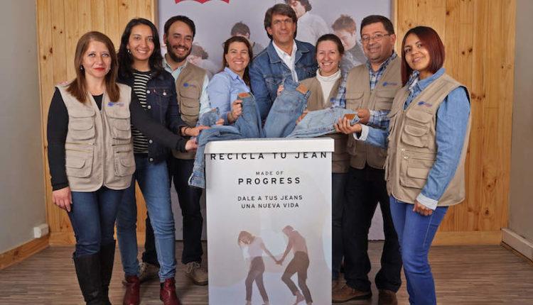 """""""Dale una nueva vida a tus jeans"""" CaritasChile y Levi's® se unen en campaña regional de reciclaje de jeans"""