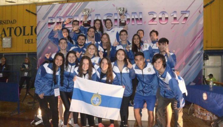 Natación varones: PUC logró el bicampeonato en las Finales Nacionales