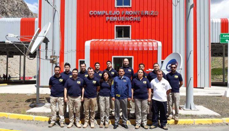 PDI reforzó contingente de detectives en Complejo Fronterizo Pehuenche por visita del Papa