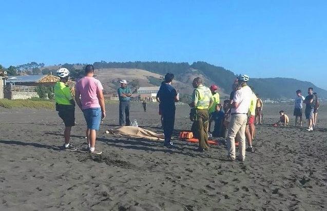 Joven talquino muere mientras se bañaba en playa de Iloca