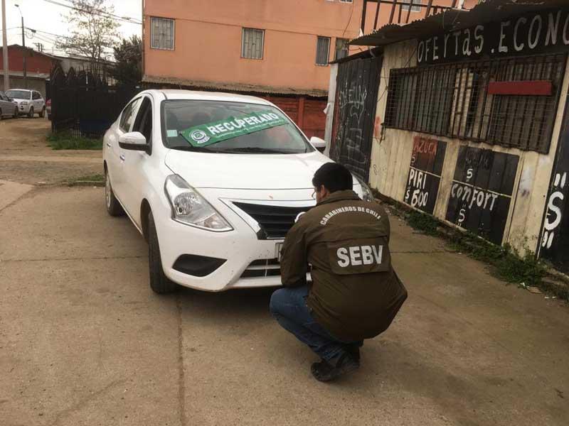 9139467997 En tiempo record SEBV de Carabineros recuperó vehículo robado en ...